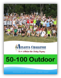 Download outdoor team building event pricing for 50- 100 people