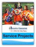 Download Service Project Team Building Event prices and agendas