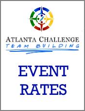 Atlanta Challenge team building event rates