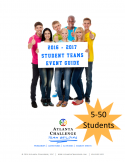 student team building events- groups of 5-50 people